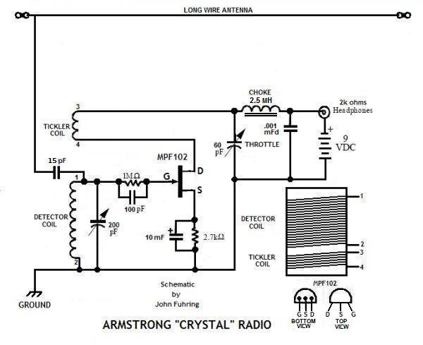fm crystal radio circuit pictures to pin on pinterest